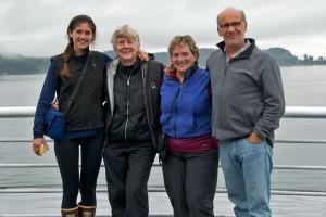 Sarah, Sharon, Peggy & Craig on the Ferry