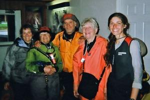 Peggy, Barbara, Craig, Sharon and Sarah